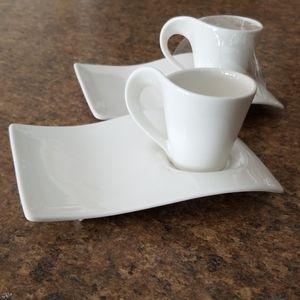 Villeroy & Boch NewWave Caffe set of 2